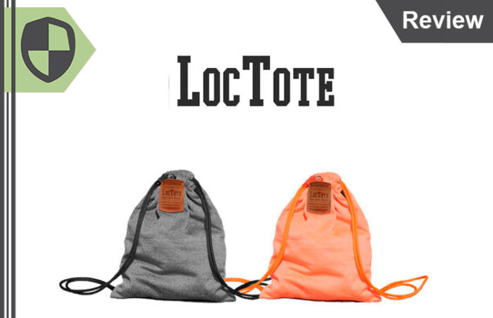 Loctote Flak Sack Review - Real Theft-Proof Drawstring Backpack Bag?