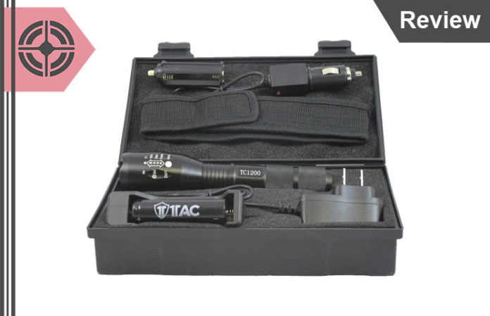 Tac 1200 Tactical Flashlight