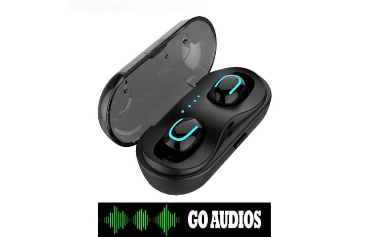 Go Audios Bluetooth 5.0 Wireless Earbuds: Noise-Cancelling Headphones